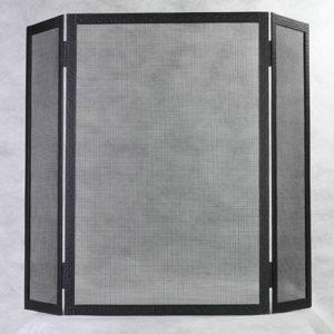 Экран противоискровой трехстворчатый