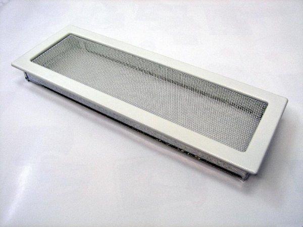 Решетка KRATKI белая 17х49