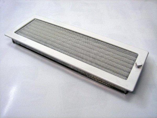 Решетка KRATKI белая 17х49 с жалюзи