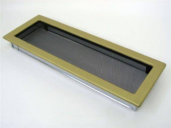 Решетка KRATKI гальваника под золото 17х49
