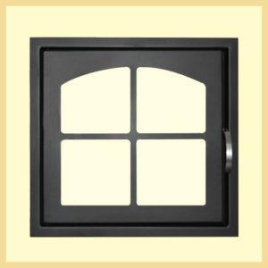 Дверь каминная МЕТА ДК555-1К