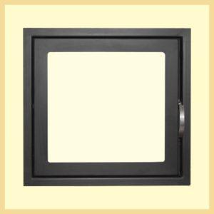 Дверь каминная МЕТА ДК555-1С