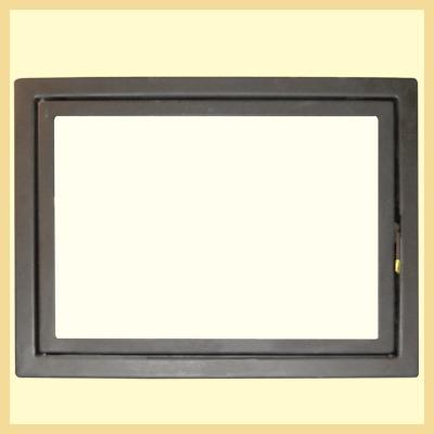 Дверь каминная МЕТА ДК690-1С
