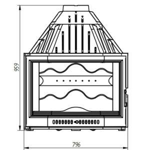 Топка 820 PRISMA (Ferlux)