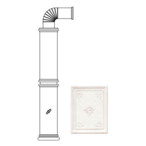 Колонна керамическая 106 см, L1 (Sergio Leoni)