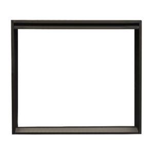 Декоративная рамка для топок, 100-серия, черная (Keddy)