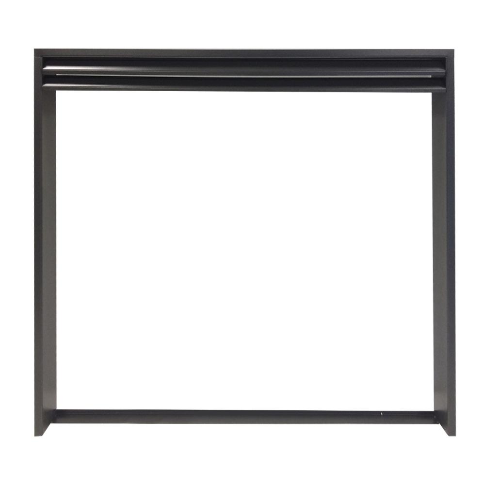 Декоративная рамка для топок, 200-серия, черная (Keddy)