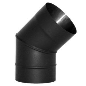Отвод VBR 45? D115, нерж., черный (Вулкан)
