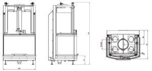 Топка Ecomonoblocco S78 3D (Palazzetti)