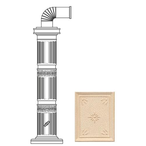 Колонна керам. 114см, цвет L3, cella (Sergio Leoni)