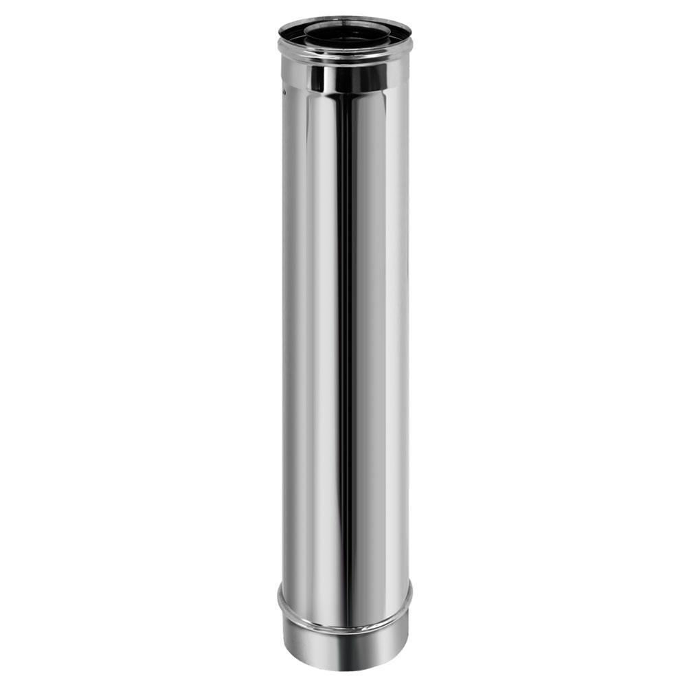 Труба коаксиальная L1000 D80/130 (Вулкан)