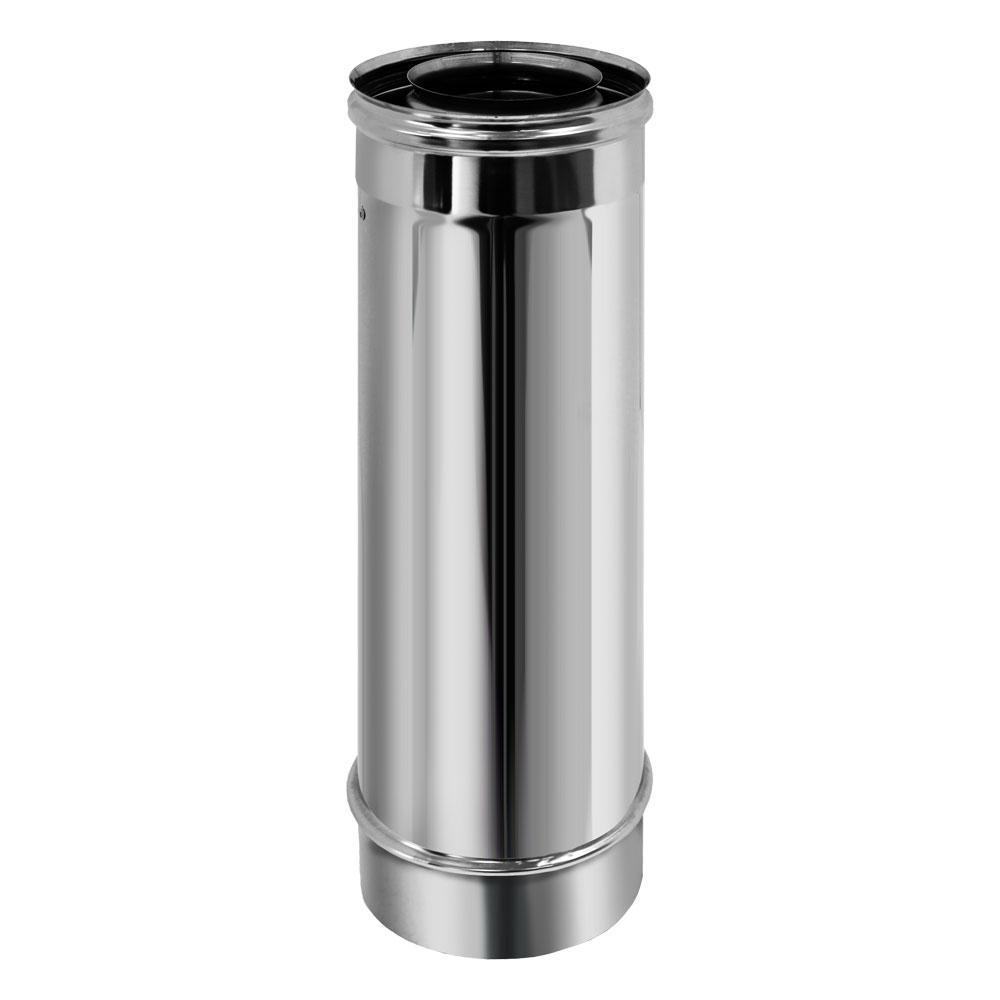 Труба коаксиальная L500 D80/130 (Вулкан)